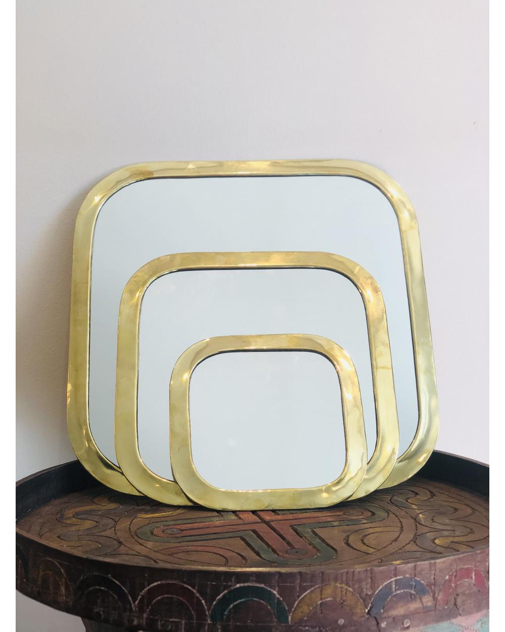 Miroir laiton marocain