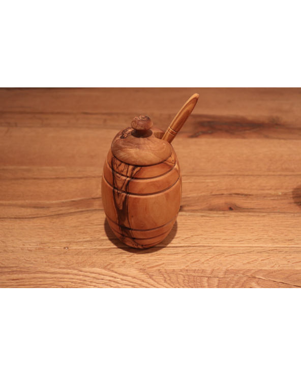 Pot à miel (Bois d'olivier)