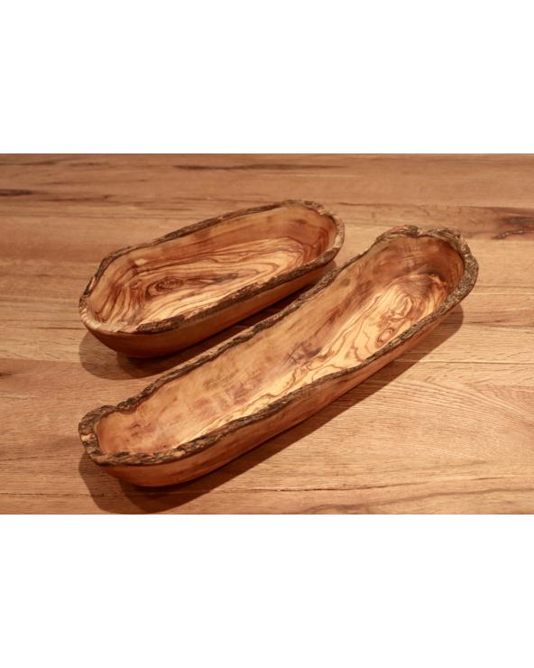 Panier à pain/ Vide poche en bois d'olivier