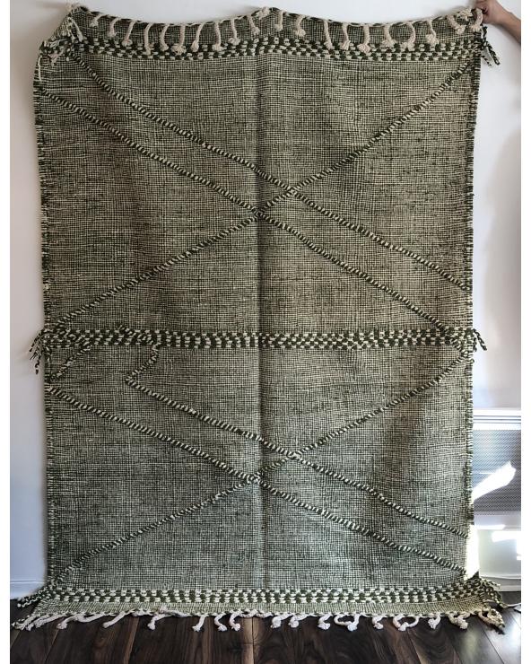 Tapis Zanafi vert (2,24mx1,60m)