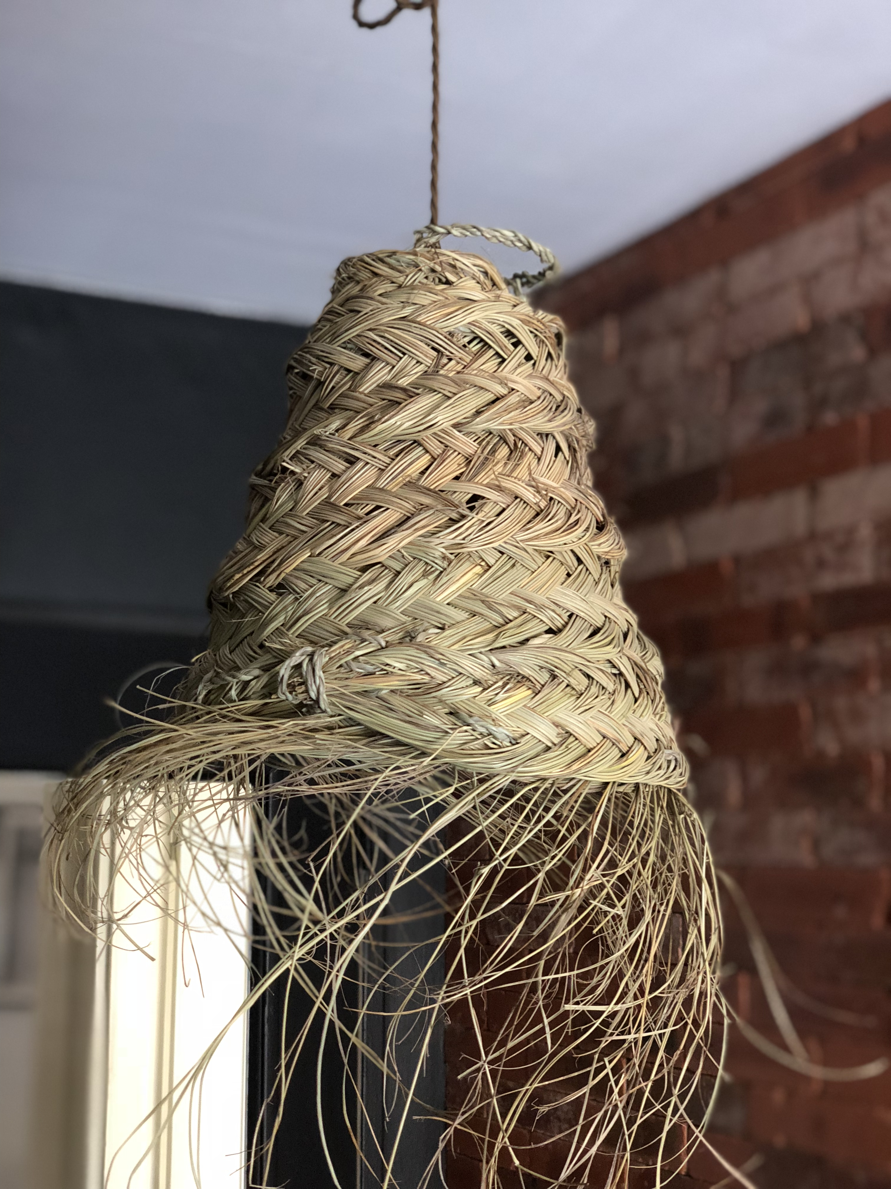 Suspension en fibre de palmier (Grand modèle)