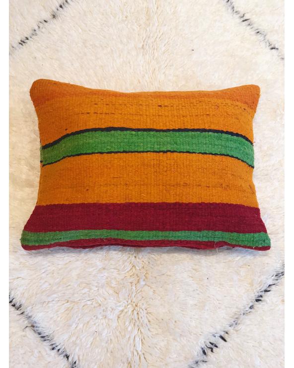 Coussin laine marocain 3
