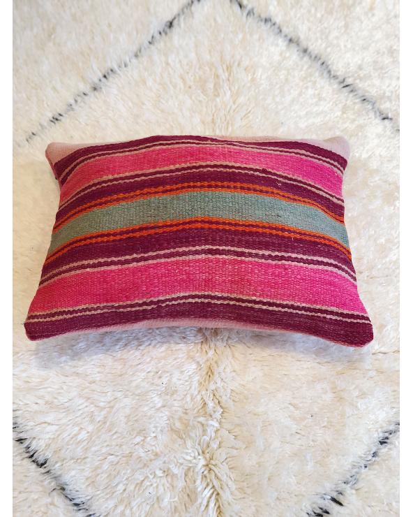 Coussin laine marocain