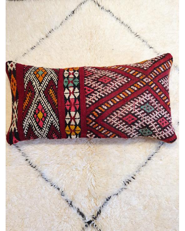 Coussin laine marocain 1