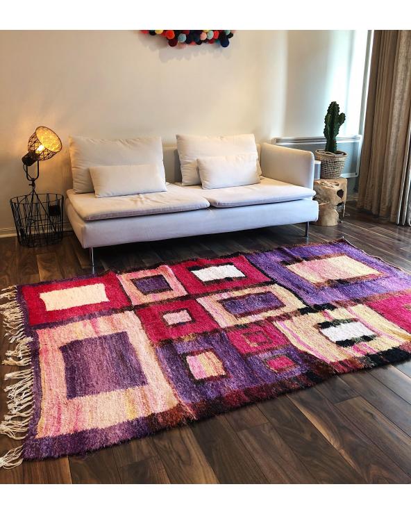 Tapis kilim marocain coloré