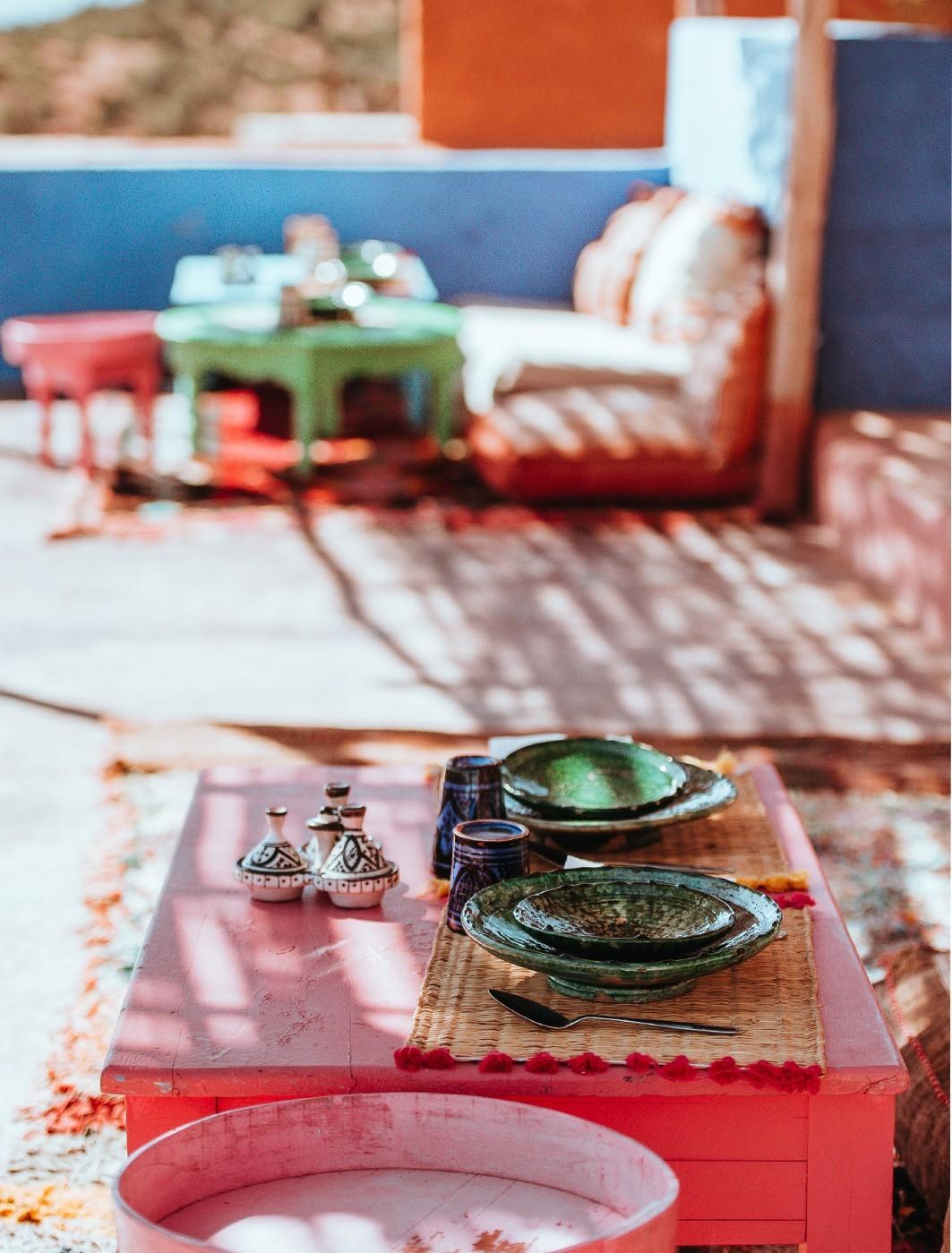 Vaisselle du Maroc | Maisons Nomades