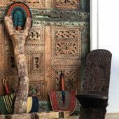 ➖Art primitif africain disponible, échelles dogon, chaises à palabres ....  ➖Pièce authentique à découvrir sur [www.maisonsnomades.com] • • • • • Shooting photo at @blissriadhotel • • #chaisepalabre #dogonmali #artpopulaire #artafricain#decorationinterieur #decorationinterieur #passiondeco #architecteinterieur #decoratricedinterieur #treasurehunter #eshopdeco #decoshop #moroccandecor #maisonsnomades